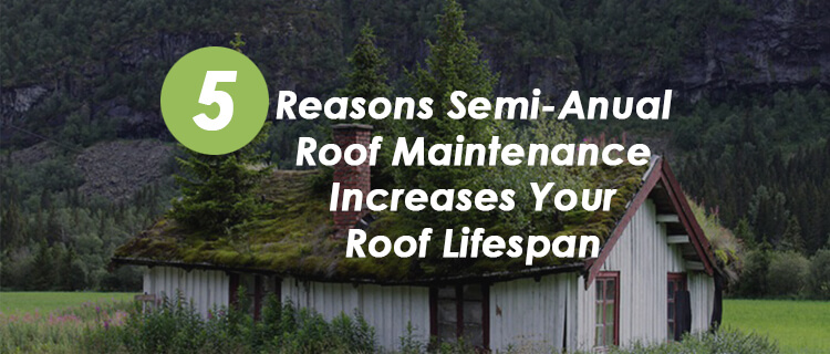 Reasons semi annual roof maintenance ResCom Roofing