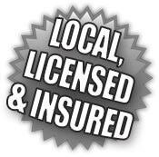Local, licensed and insured at ResCom Roofing