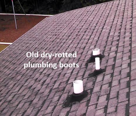 Plumbing boots ResCom Roofing