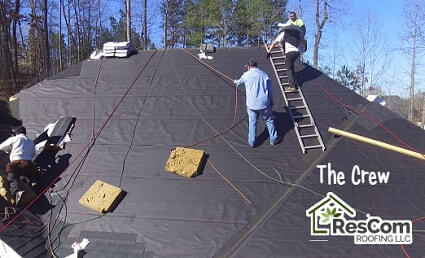 ResCom Roofing Installers in Metro Atlanta and Suwanee Georgia