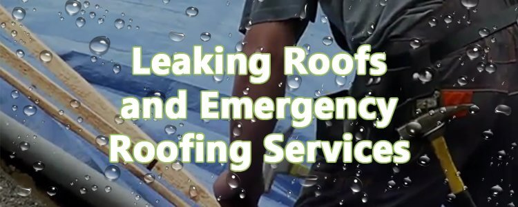Leaking roofs and emergency roofing repair services ResCom Roofing